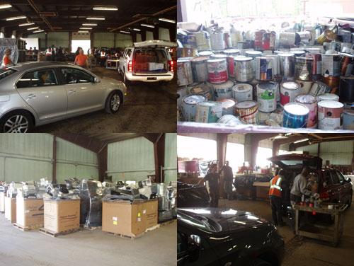 Household Hazardous Waste Day at the Highway Garage