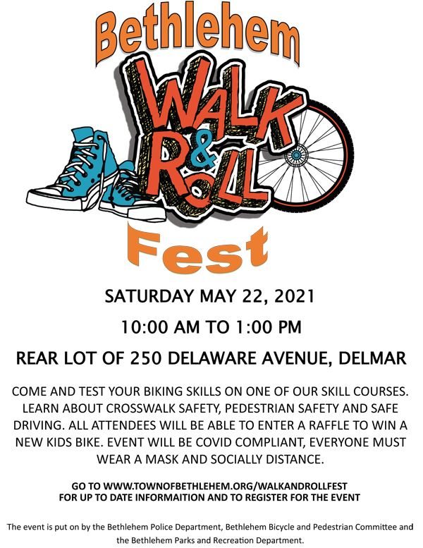 Walk and Roll Fest - May 18, 2019