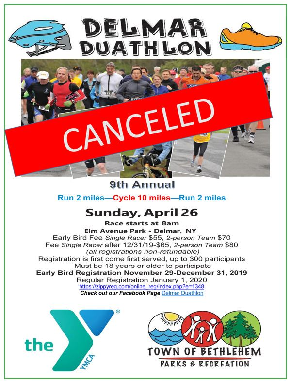2020 Delmar Duathlon Flyer