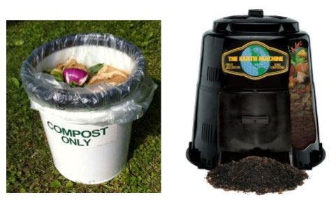 curbside and backyard composting