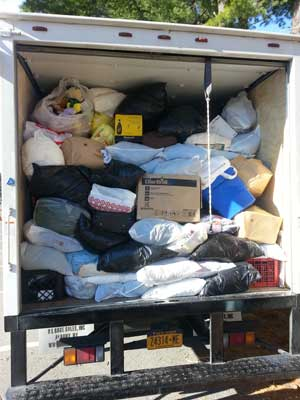 Textile Recycling Event 2014 - Full Truck