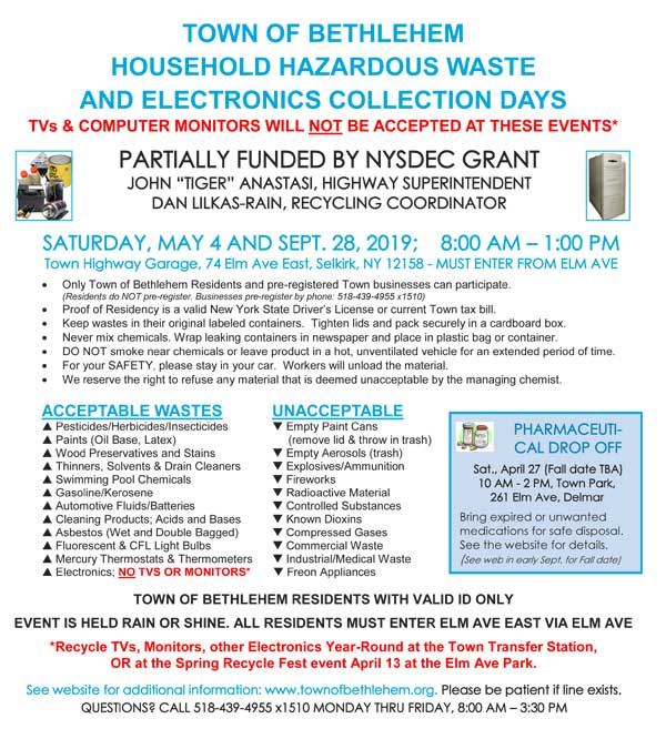 2016 Fall Recycling Events