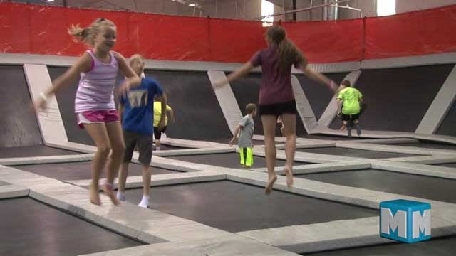 Enjoying Flight Trampoline Park